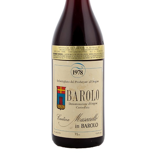 Cantina Bartolo Mascarello Barolo (privately sourced)