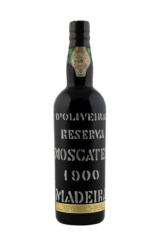 D'Oliveira Moscatel Madeira (Family Reserve) (Stenciled)