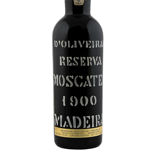D'Oliveira Moscatel Madeira (Family Reserve, Stenciled)