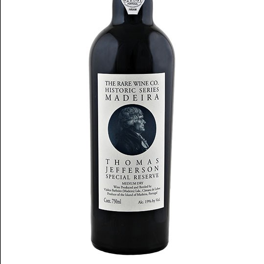 Rare Wine Co. Historic Series Thomas Jefferson Special Reserve Madeira