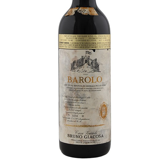Bruno Giacosa Barolo Collina Rionda (Torn Label)