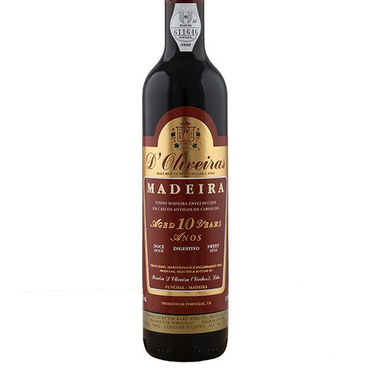 D'Oliveira 10-year-old Sweet Madeira