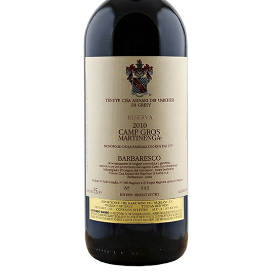 Marchesi di Gresy Barbaresco Camp Gros