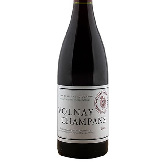 Marquis d'Angerville Volnay Champans