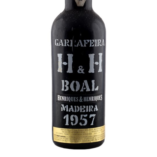 Henriques & Henriques Bual Madeira (Bottled 7/4/1992)
