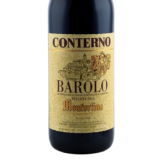 Giacomo Conterno Barolo Monfortino (1 bottle sealed OWC, ex-domaine)