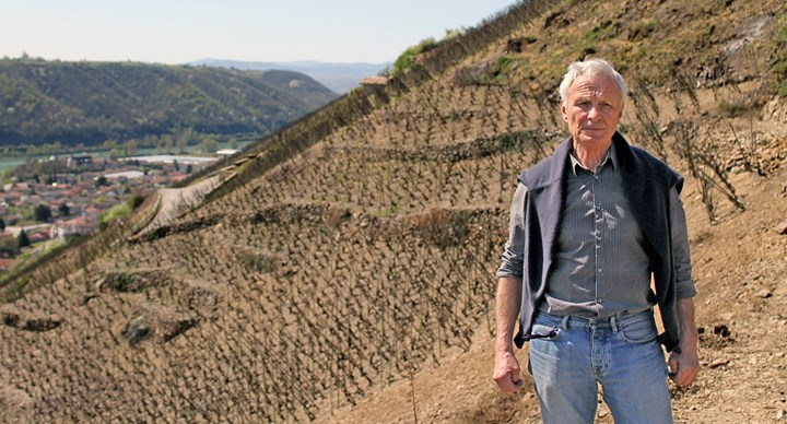René Rostaing's on the slopes of the iconic La Landonne vineyard.