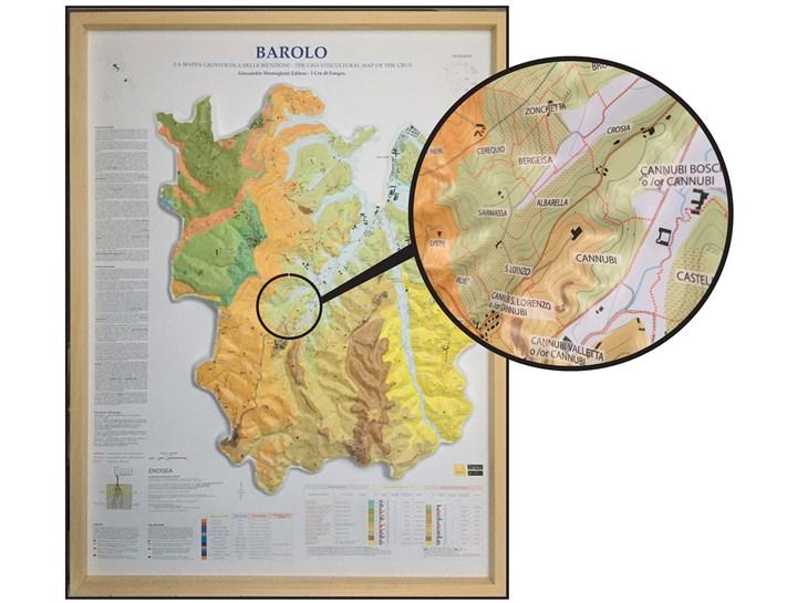 Barolo Wine Region Italy Map.Alessandro Masnaghetti S 3d Barolo Map And Mga Volume I 2nd Edition