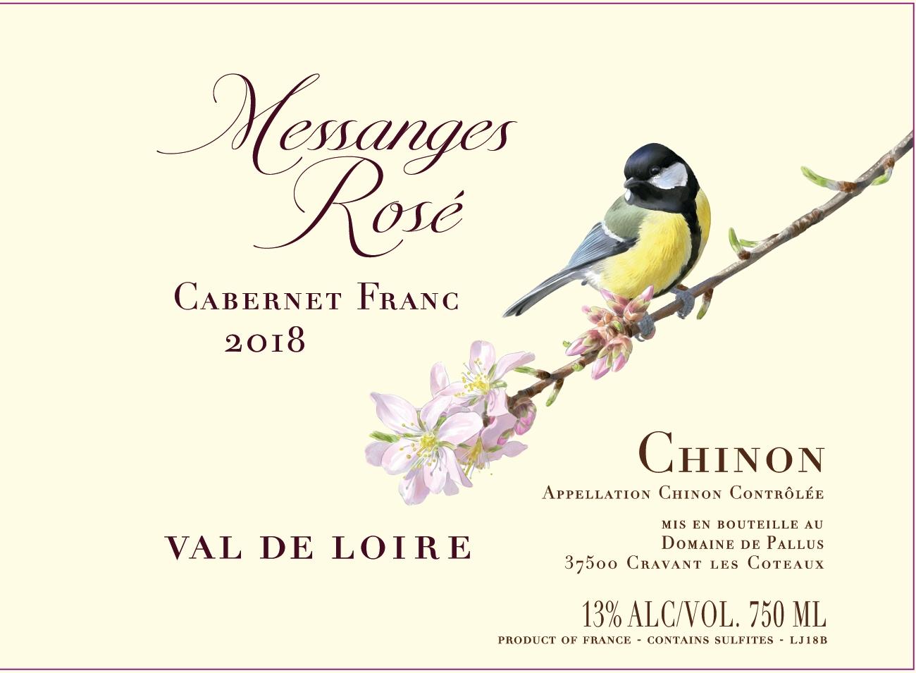 Domaine de Pallus Messanges Dry Rosé 2019
