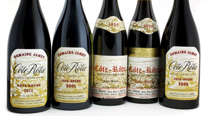 With only about 150 cases made per vintage, Jamet's Côte Brune has emerged as one of the iconic collectibles of the Northern Rhône.